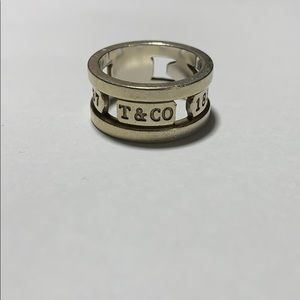 Tiffany & Co. SS ring size 5.50
